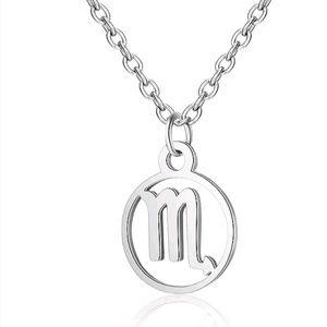 🎀3/$22🎀 Scorpio Horoscope Pendant Necklace